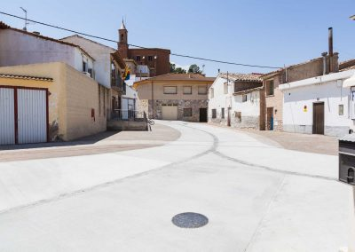 Renovación de pavimento de la Plaza de Botorrita (Zaragoza)