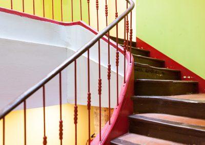 Rehabilitación de edificio en Zaragoza.
