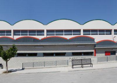 Acondicionamiento y urbanización de pabellón polideportivo en Bujaraloz (Zaragoza)