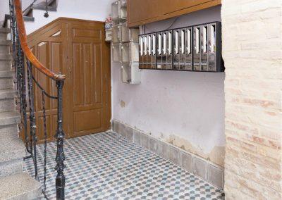 Rehabilitación y acondicionamiento de portal. C/ García Galdeano (Zaragoza).