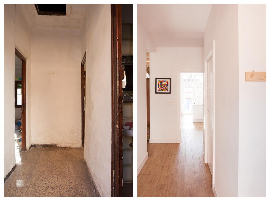 Proyecto de rehabilitación y ampliación de volumen. Barrio de La Jota, Zaragoza.