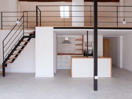 Rehabilitación de vivienda unifamiliar entre medianeras en Utebo